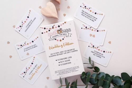Fotospiel Hochzeit Kartenbox Dekobeispiel