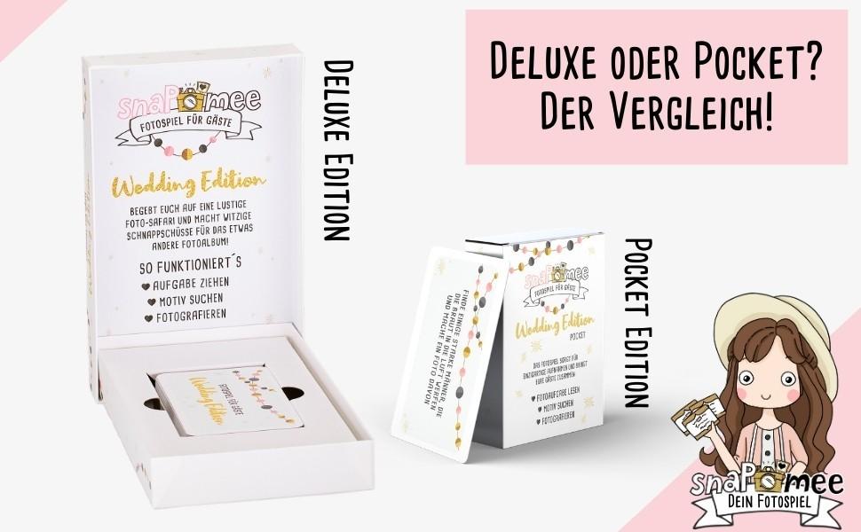 fotospiel pocket deluxe vergleich - Kartenbox Hochzeit Deluxe