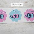 Etiketten für Photobooth