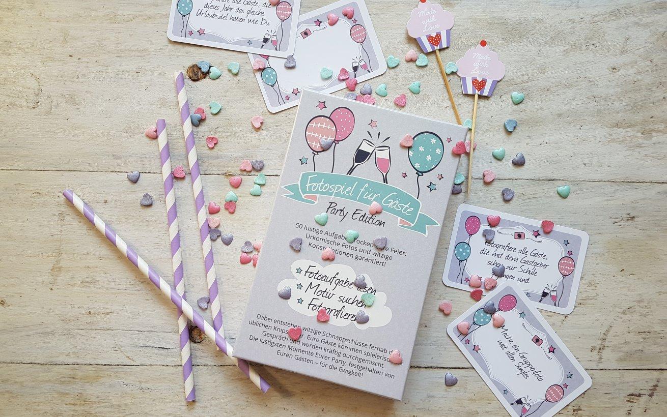 Party Edition Kartenbox mit 50 Aufgaben