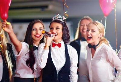 Karaoke Party mit 4 Mädels