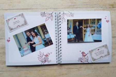 Fotobuch für Gäste Anwendungsbeispiel