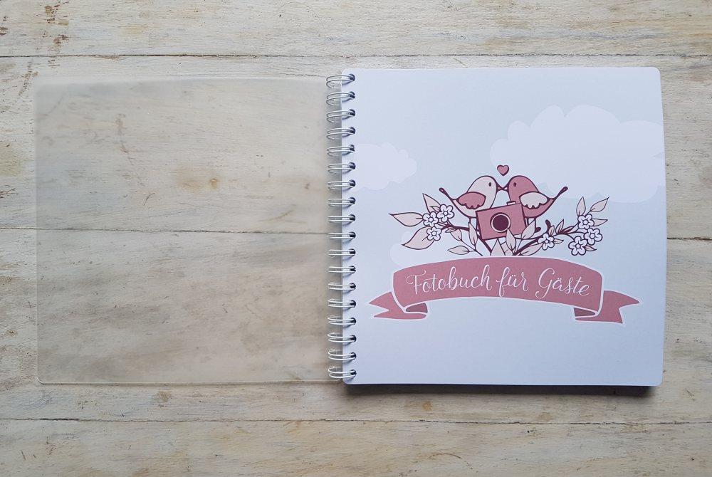 Fotobuch und Gästebuch für Eure Hochzeit