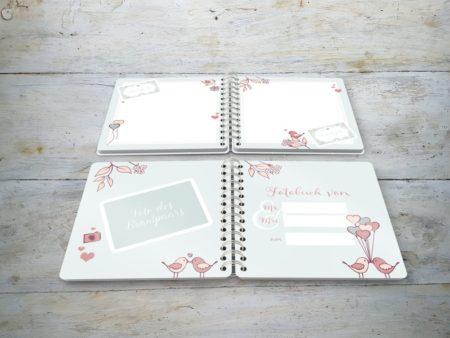 Fotobuch für Gäste Hochzeit Innenseiten