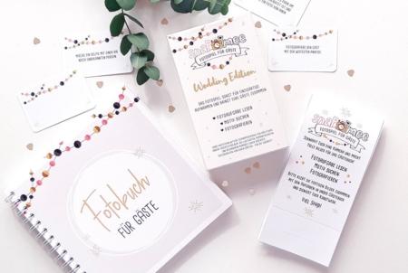 Fotospiel Hochzeit Sparpaket Dekobeispiel