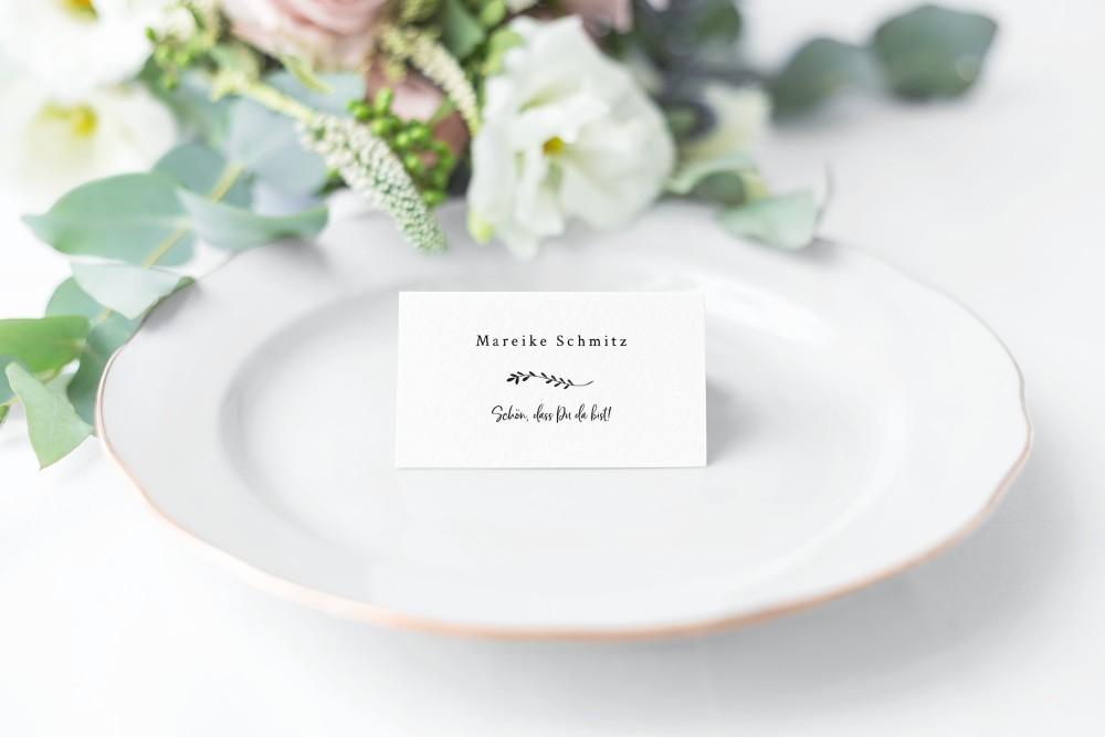 Tischkarte Variante 1