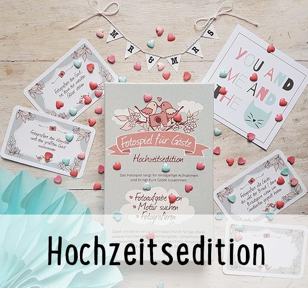 Hochzeitsedition Kartenbox für noch schönere Hochzeitsfeiern