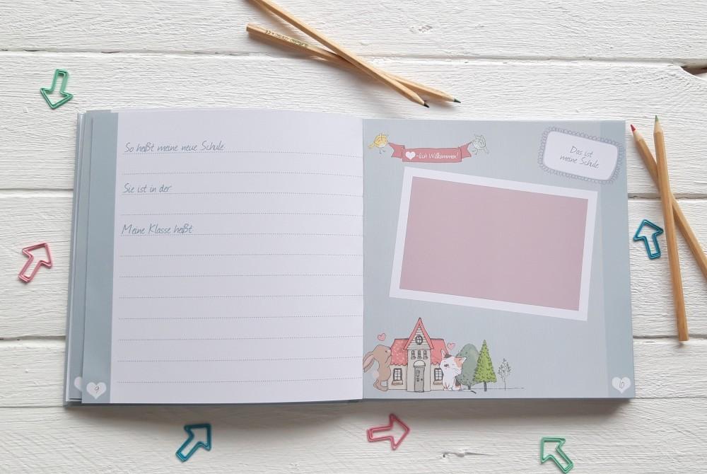 Tagebuch und Fotoalbum in einem