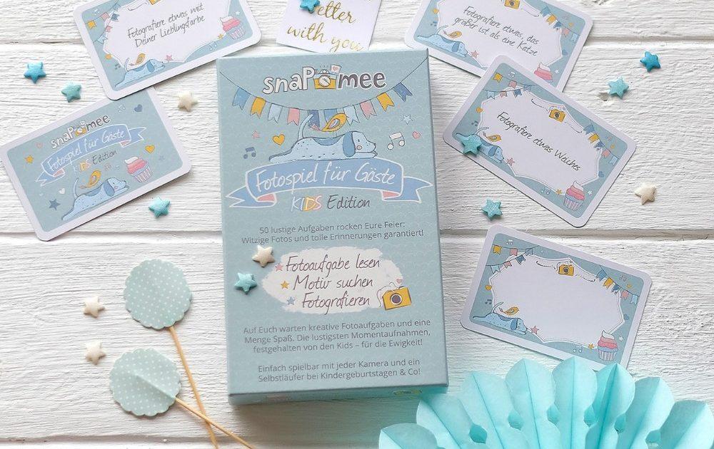 snaPmee Fotospiel Kids Edition Kartenbox