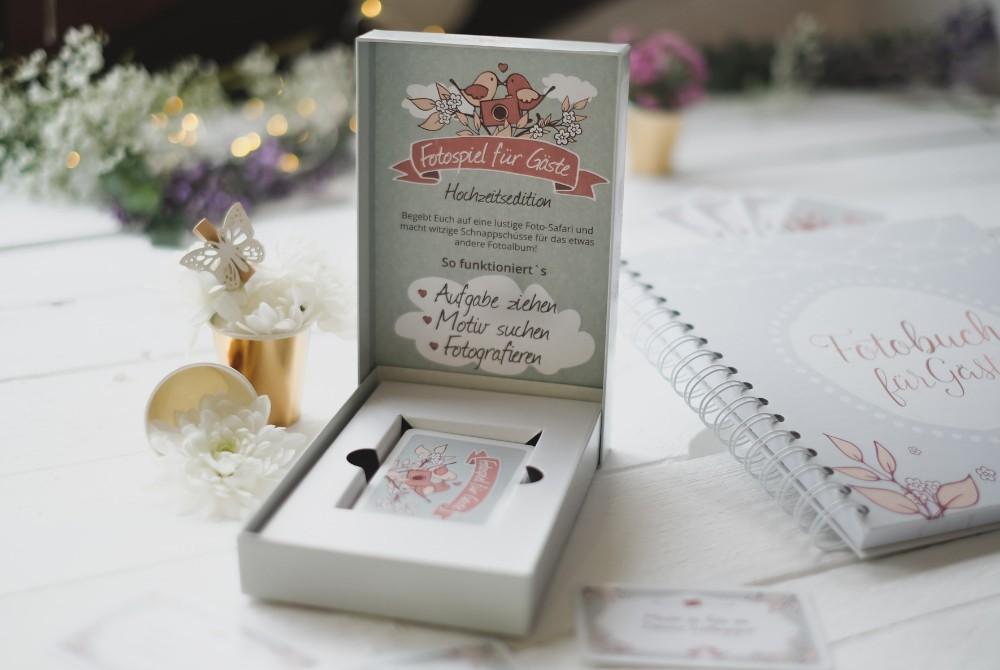 """Kartenbox """"Hochzeit"""" mit 50 Fotoaufgaben"""