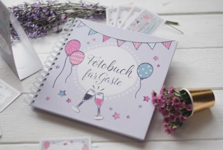 """Fotobuch """"Party"""" für Gäste"""