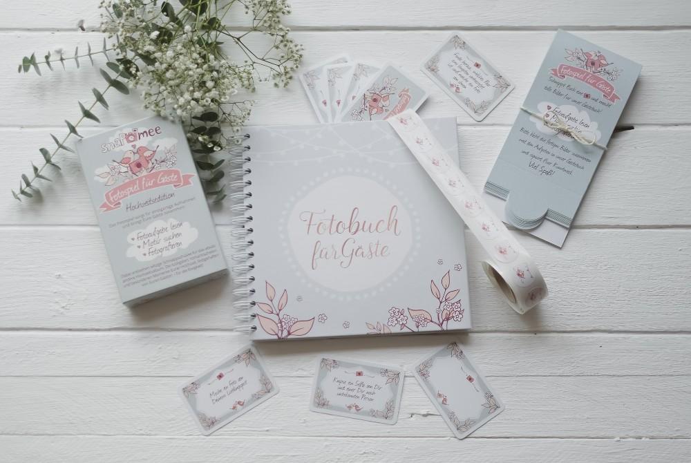 snaPmee Fotospiel Hochzeitsedition Sparpaket
