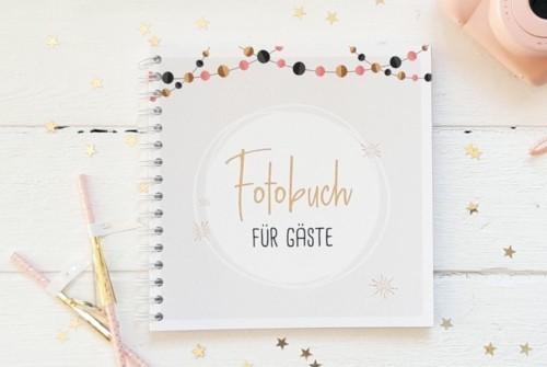 Fotobuch Hochzeit Gold Cover